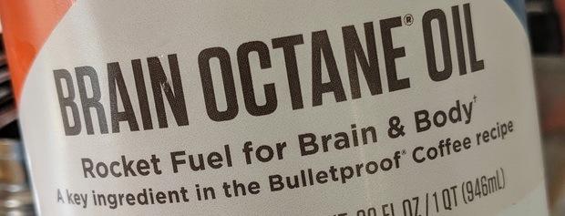 Brain Octane Oil - MCT-olja från Bulletproof.
